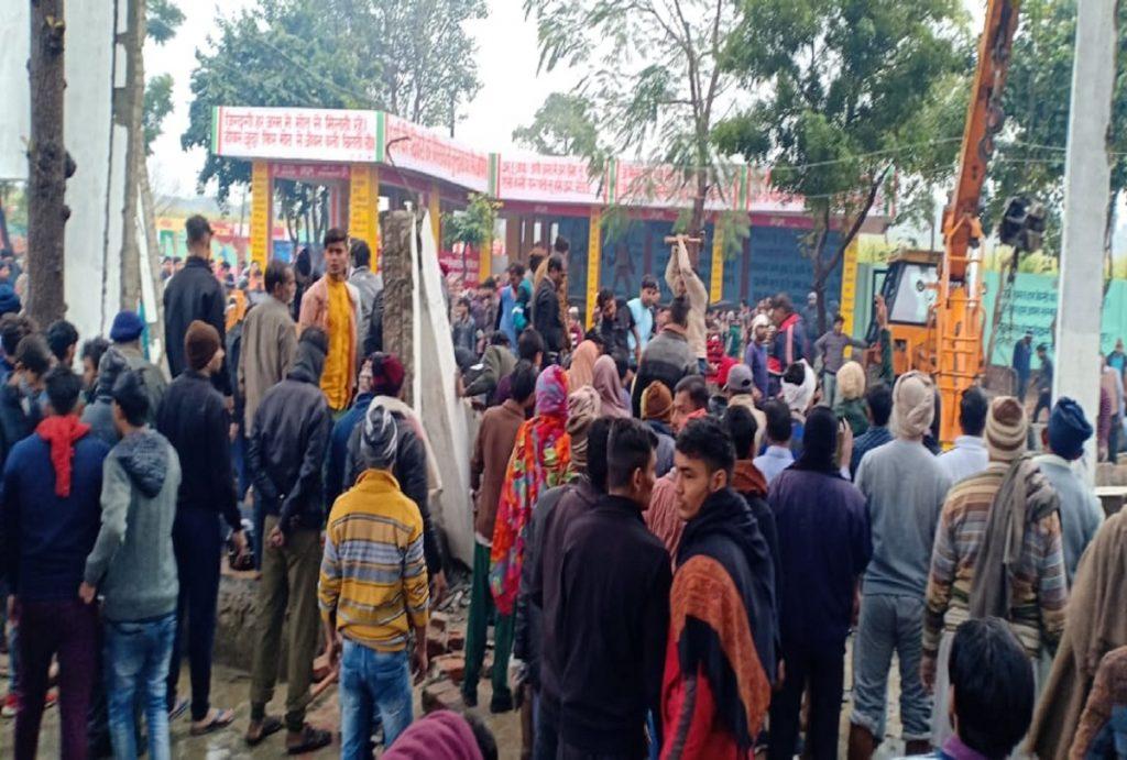 ghaziabad crematorium modi condolences