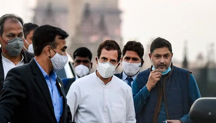 Farmers protest congress