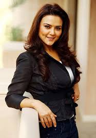 Bollywood actress Preity Zinta