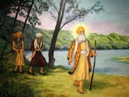 shri guru nanak dev ji and bhai mardana ji