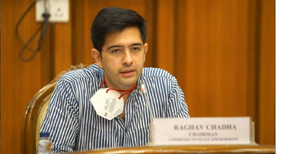 raghav chadha says