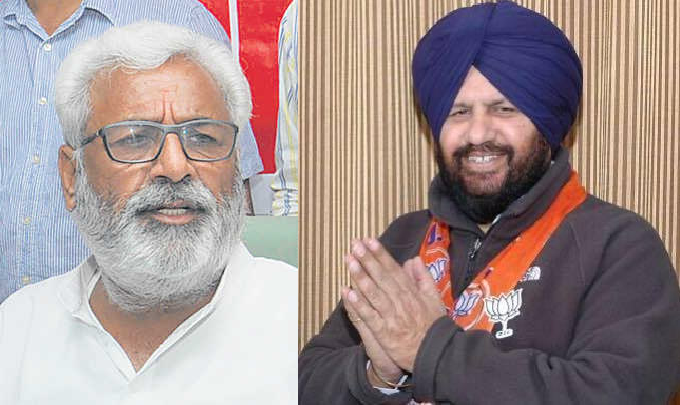 Punjab BJP leaders spoke
