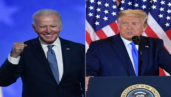 Trump pledges an orderly transfer