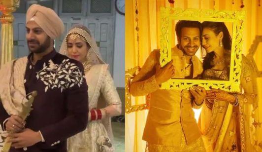 Karanveer Mehra and Nidhi Seth