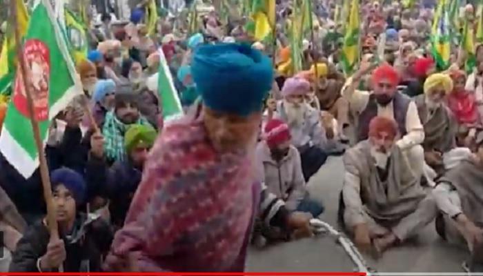 Farmer goes to Tikri border