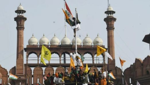 Tricolor not removed from Red Fort