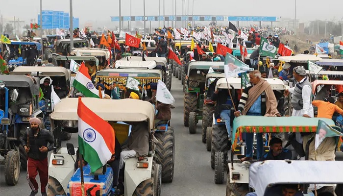 Farmer's Tractor Parade