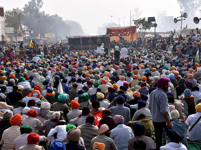 Congress march in Bhopal