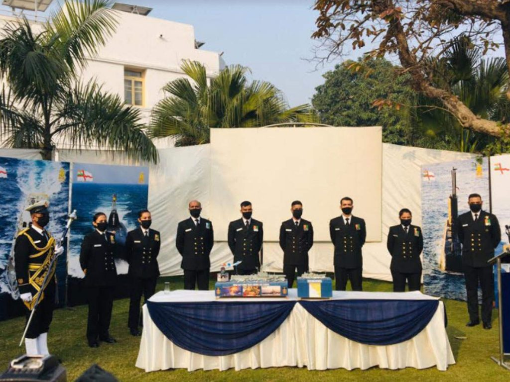 Indian Navy R-Day tableau