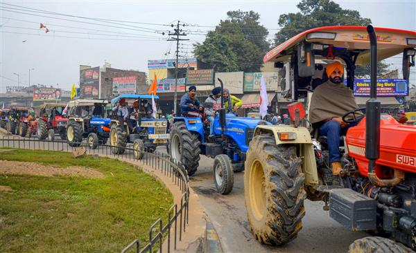 Farmers Will Perform Parade