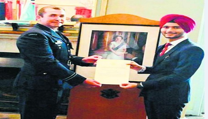 Simran Singh Sandhu Royal Australian Air Force
