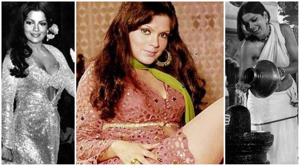 famous actress Zeenat Aman
