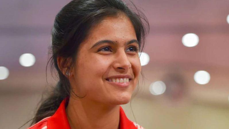 Indian Olympian shooter Manu