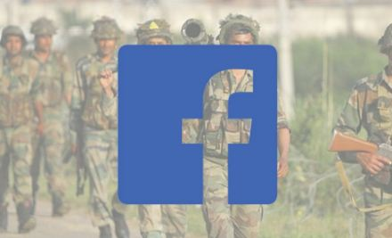 Facebook against the army