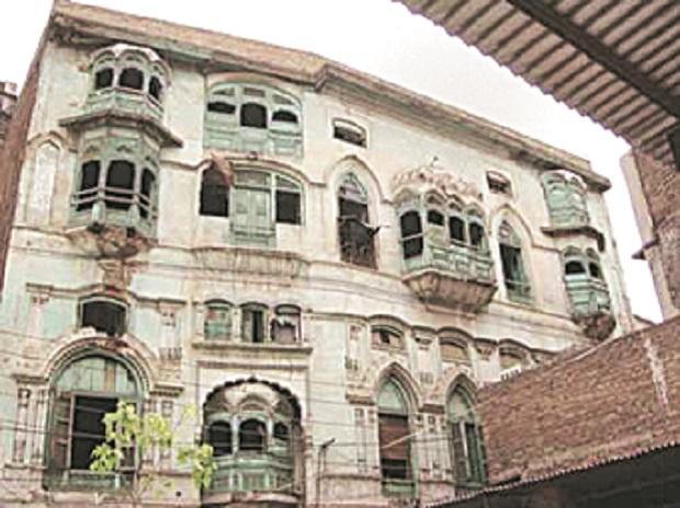Dilip Kumar's ancestral home