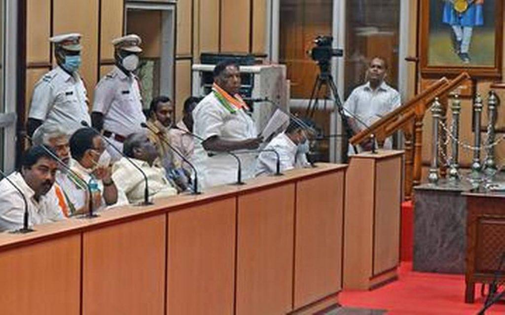 Presidential rule in Puducherry