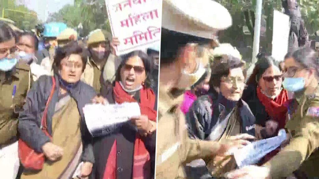 Delhi police detains 50 people