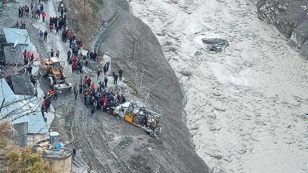 Uttarakhand glacier break