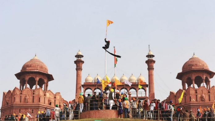 Deep Sidhu taken to Red Fort by SIT