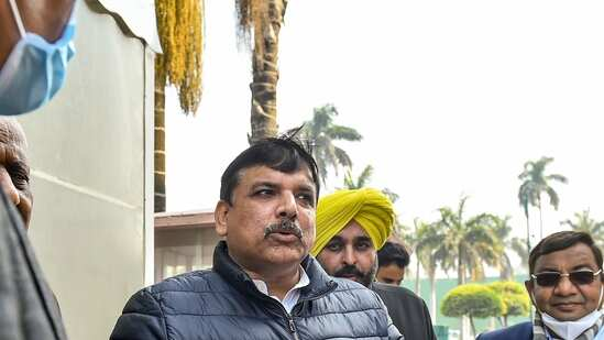 Sanjay singh on farmers protest