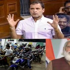 Rahul gandhi takes