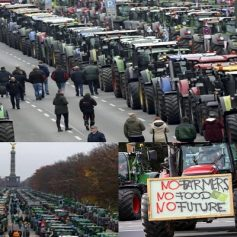 Farmers protest in germany