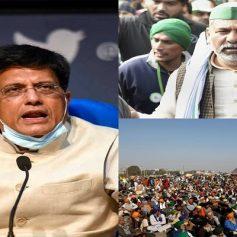 Farmers protest piyush goyal says