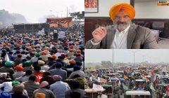 Manjinder singh sirsa on tractor parade