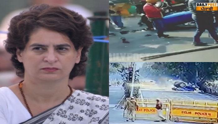 Priyanka gandhi rampur up visit