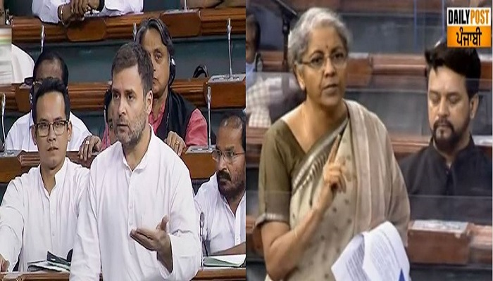 Nirmala sitharaman budget discussion