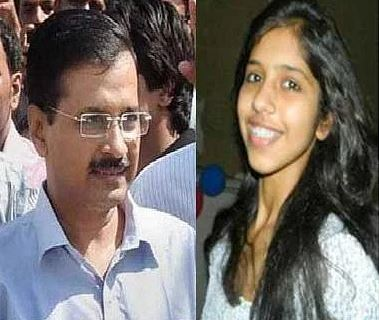 Arvind kejriwal daughter harshita