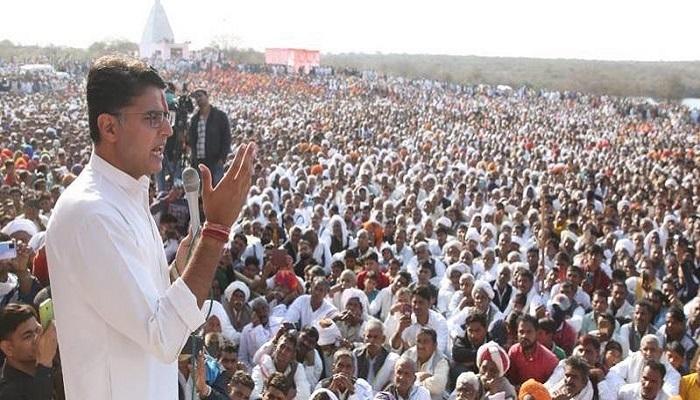 Sachin pilot kisan panchayat