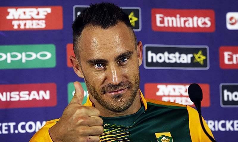 Faf Du Plessis announces retirement