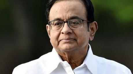 P Chidambaram came in support