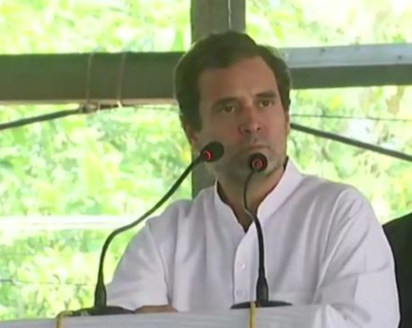 Rahul Gandhi on two-day visit