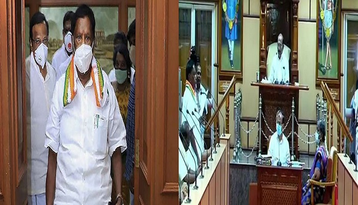Puducherry speaker announces