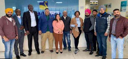 ludhiana foreign delegation visit