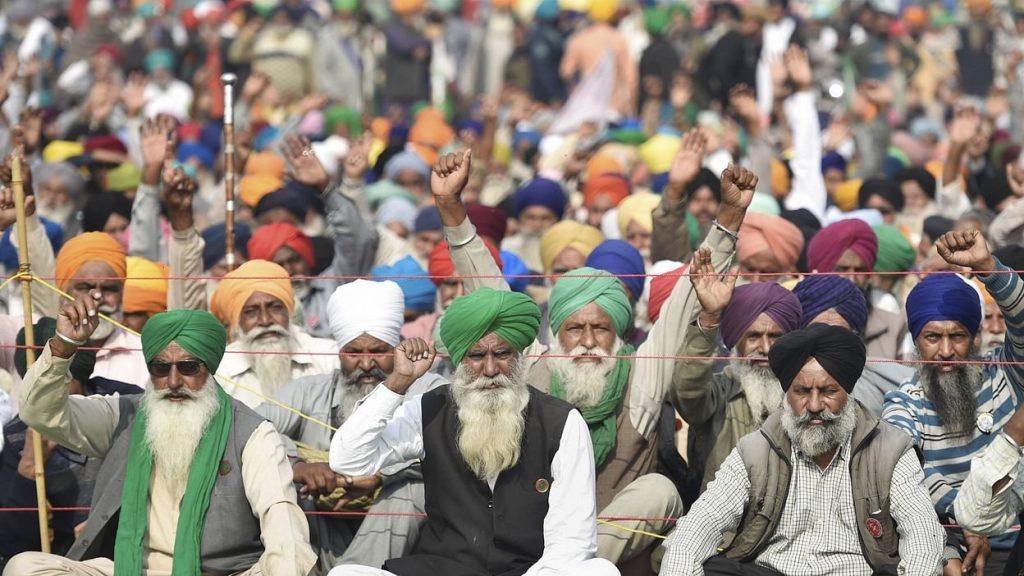 Tomar statement on farmers agitation