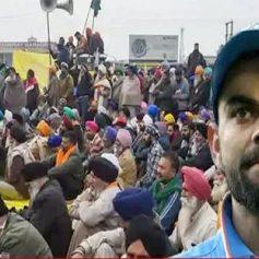 Virat kohli on farmers protest
