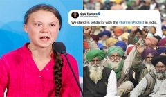 Greta thunberg comment on farmers protest