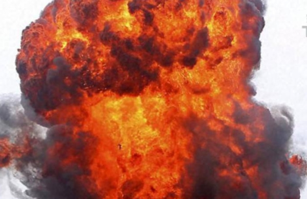 Bomb blast in West Bengal