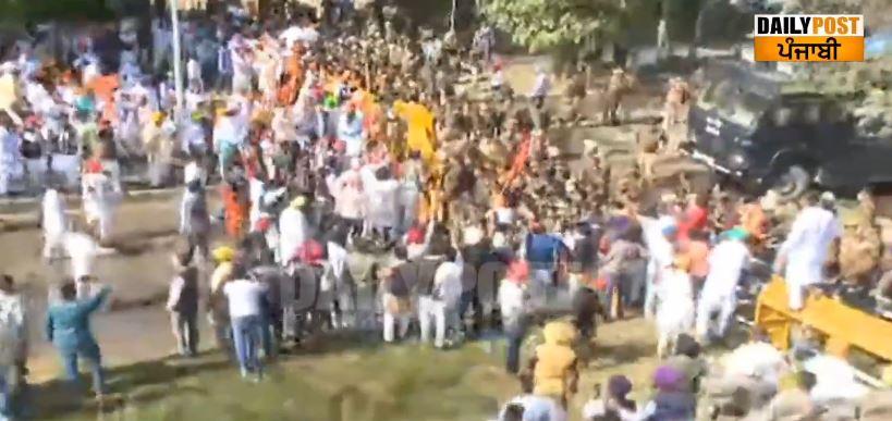 SAD marches towards Vidhan Sabha