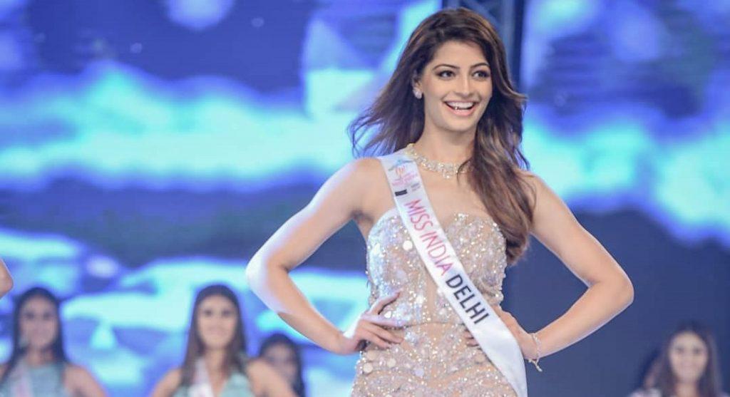 Miss India Delhi 2019 Mansi Sehgal