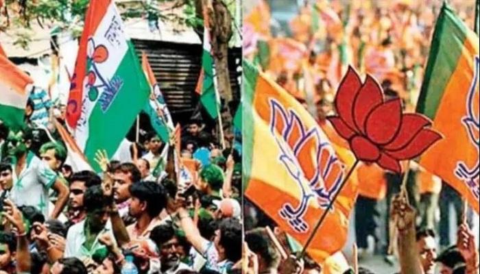 BJP and TMC workers clash