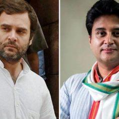 Rahul gandhi on jyotiraditya scindia