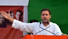 Rahul gandhi said govt will