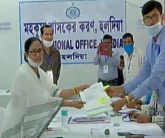 Mamta banerjee filed nomination