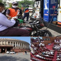 Parliament budget session 2021 today