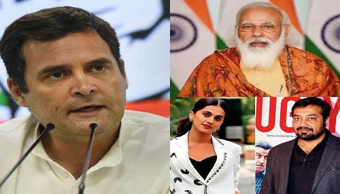 Rahul tweet on income tax raids