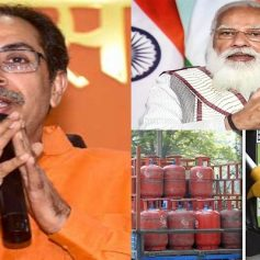 Shiv sena attacked modi government